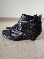 Stiefelette Jana Fashion schwarz Gr