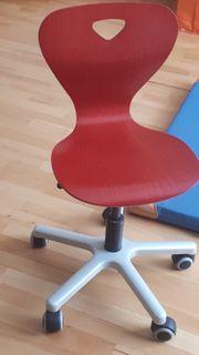 Moll - Kinder-Drehstuhl Schreibtisch-Stuhl Woody Farbe