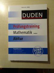 Abiturvorbereitung Mathematik Analysis mit Originalklausuren