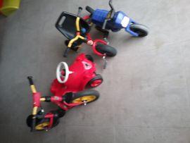 Kinderfahrzeuge - Bobbycar Dreirad Motorrad Laufrad Spielfahrzeuge