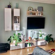 Schöne Wohnwand 4-Teilig