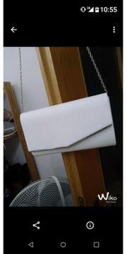 Elegante weiße Tasche
