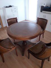 Liebhaberstück Runder Tisch mit vier