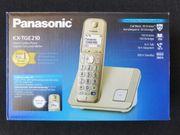 Schnurloses DECT Telefon Panasonic KX-TGE210