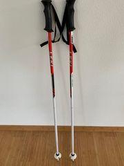 Kinder-Skistock LEKI - Farbe rot weiß