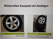 Winterreifen Komplett mit Audi ALU-Felgen