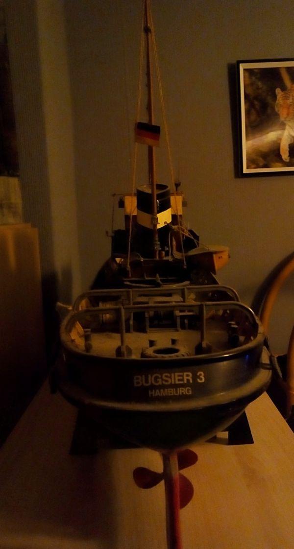 Modellboot Burgsier 3 hamburg