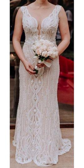 Brautkleid massgeschneidert 38: Kleinanzeigen aus Essen Burgaltendorf - Rubrik Alles für die Hochzeit