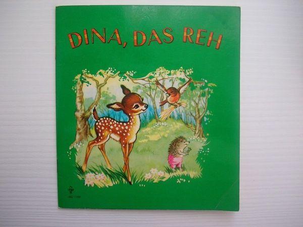 Altes Kinderbuch Dina das Reh