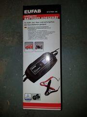 Intelligentes Batterieladegerät Eufab 6 12Volt