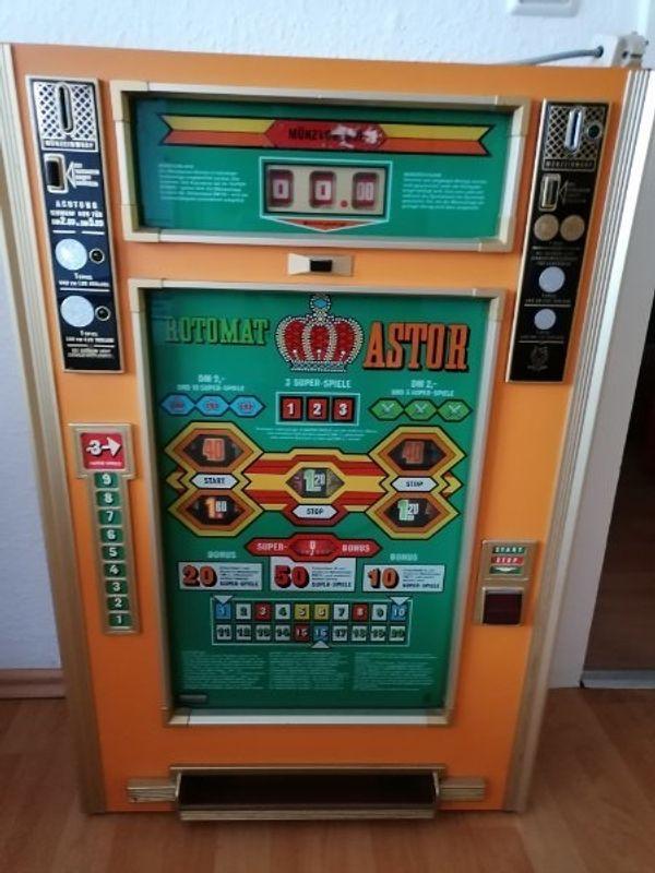 Geldspielautomat aus den 70 Jahre