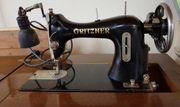 antike alte Nähmaschine von Gritzner -