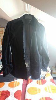 Langarmhemd schwarz