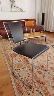 Leder-Stuhl Stühle Design - 6 Stück