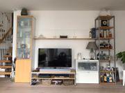 Schöne TV- Wohnwand flexibel Stellbar