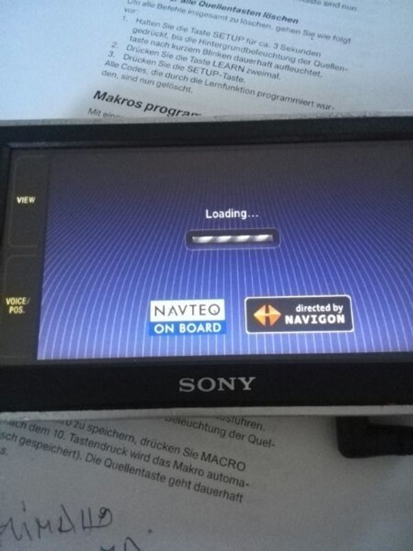 Navi Sony