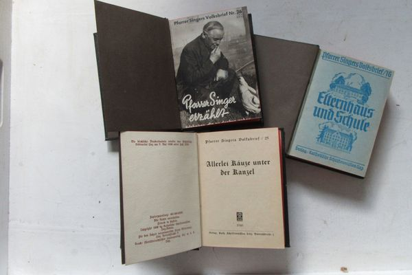 Pfarrer Singers Volksbücher