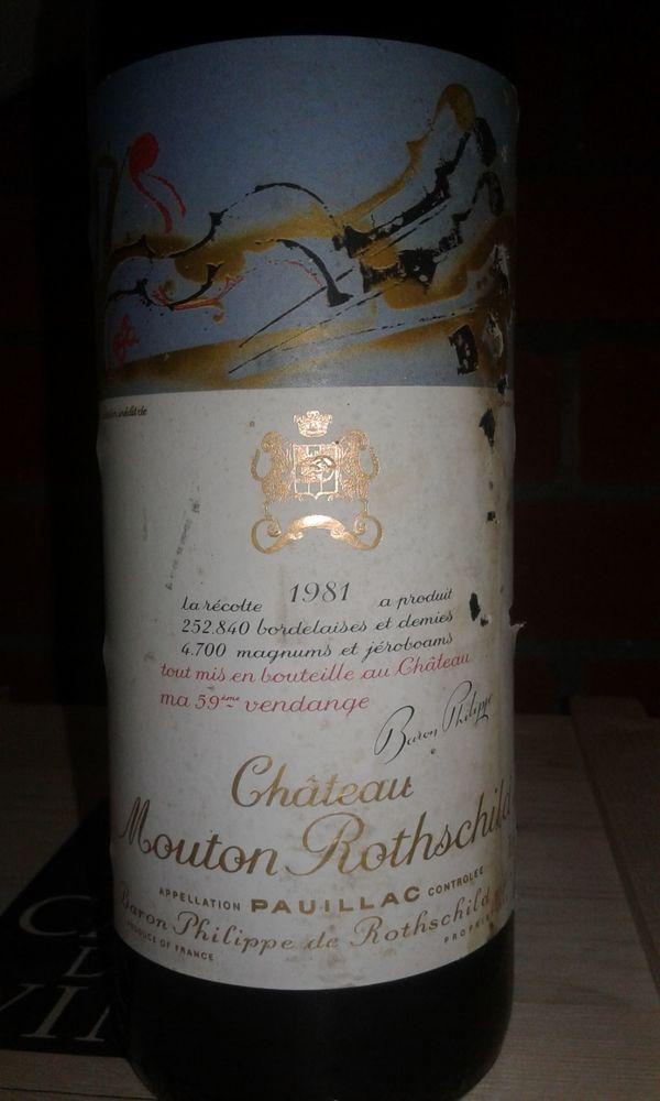 Chateau Mouton Rothschild 1981