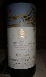 Chateau Mouton Rothschild 1981