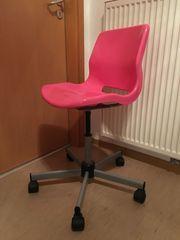 IKEA SNILLE Drehstuhl pink
