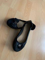 Ballerinas Größe 36 Schuhe schwarz