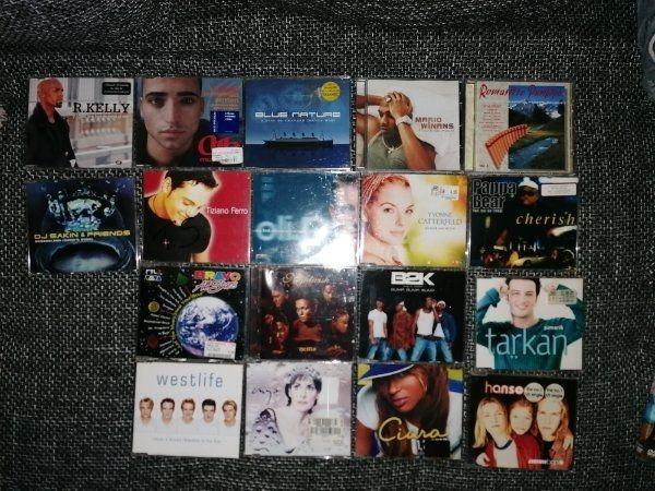 38 verschiedene CDs
