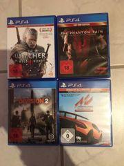 PS4 Spiele neuwertig ohne Kratzer