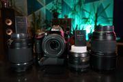 Nikon D5200 Set mit viel
