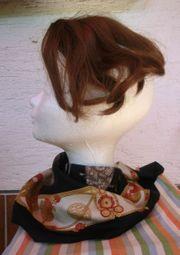 Haarteil aus hochwertigem Kunsthaar braun