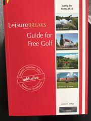 LeisureBREAKS Buch - Golf