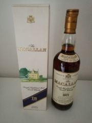 Macallan 1971 18 Years Sherry