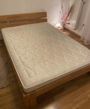 Bett massiv Holz 140 x