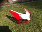Ducati Cockpit mit Scheibe