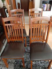 Verkaufe 4 Esszimmer Stühle