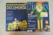 2 Zeitschriften monopol Documenta und