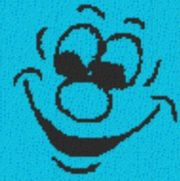 Vorlage für Ministeck Smiley12 40x40cm