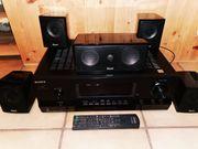 Sony Stereoanlage mit Magnat Interior