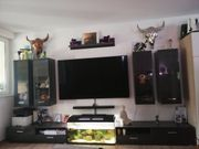 Wohnwand mit LED