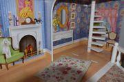 Grosses Kidcraft Puppenhaus mit Möbeln