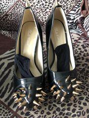 High heels Lack Pumps 37