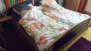 Bett kpl zum Selbsabbauen Maße