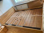 Bett 140x200 Buche Massivholz inkl