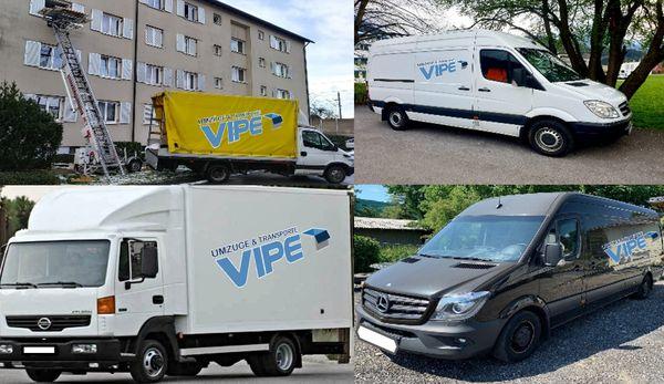 VIPE Umzug Entrümpelung Transport Reinigung