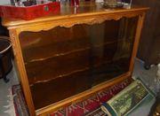 Sideboard Holz mit Glasschiebetüren
