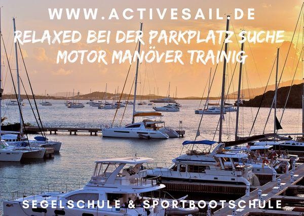 Hafentraining Skippertraining für die Segelyacht