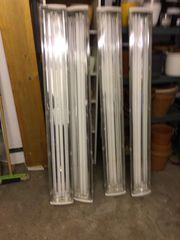 Industrielampen 160 cm lang mit