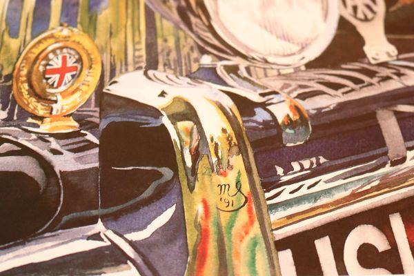Kunstdrucke Michael Schuppan Rolls Royce Keine Prospekte Poster In