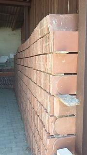 NEU Dachziegel Biberschwanzdachziegel rot 3190