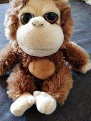 Kuscheltier Plüschtier Stofftier Affe