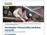 Verkäufer Fleisch Wurst Käse m